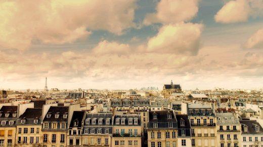 immeubles haussmanniens à Paris